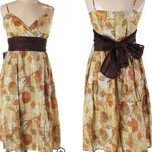 NWT Adorable AGB lined bo-ho floral pattern dress!